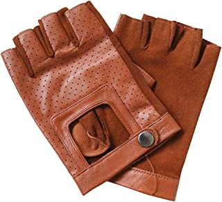 MEYKISS Unisex Leather Everyday Driving Gloves