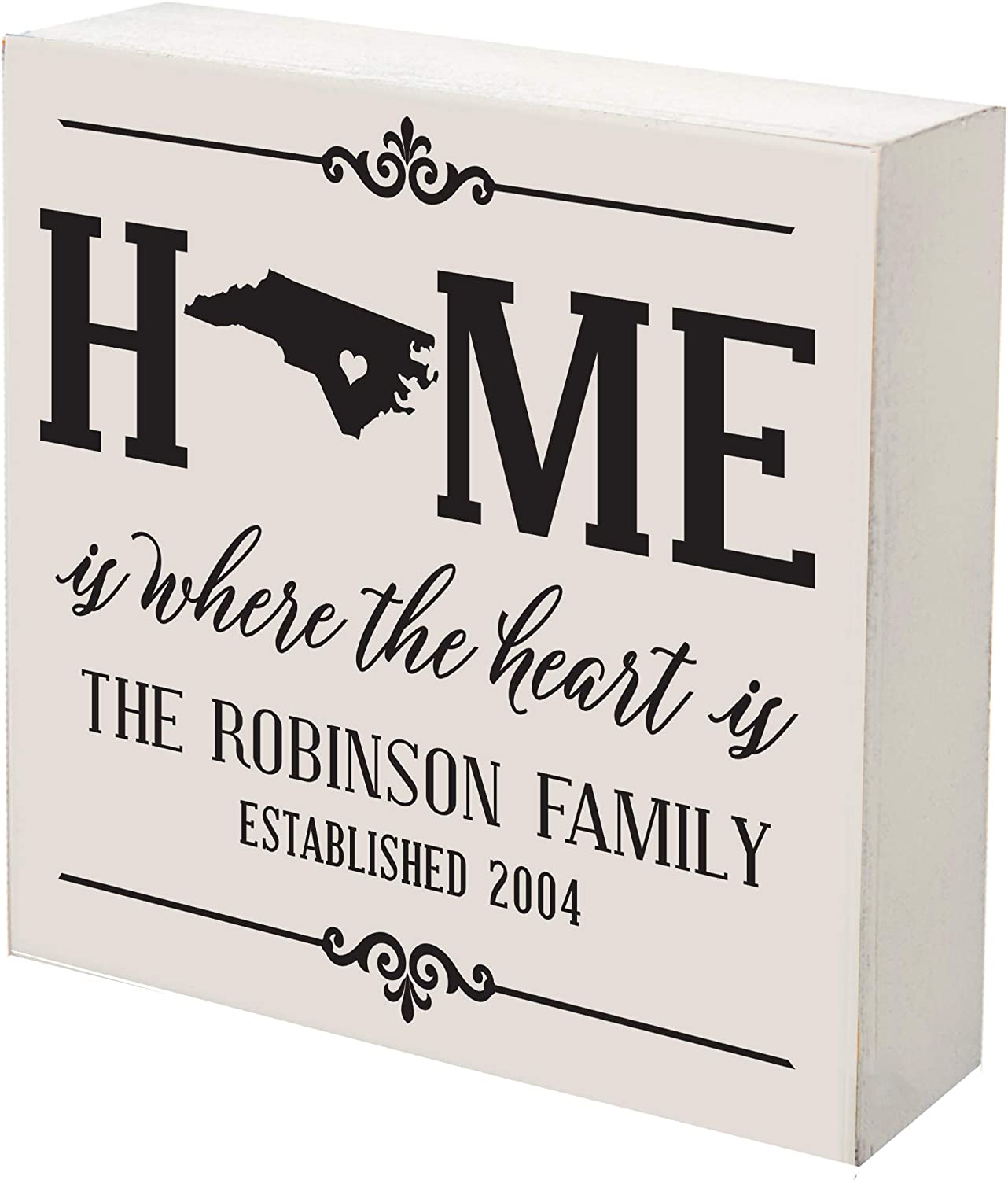 LifeSong Milestones online shop Personalized North Shado Carolina Cheap State Home