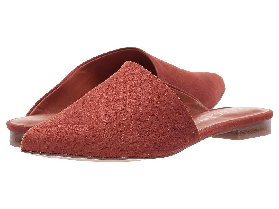 Matisse Xander Slip-On Mule (Rust) Women