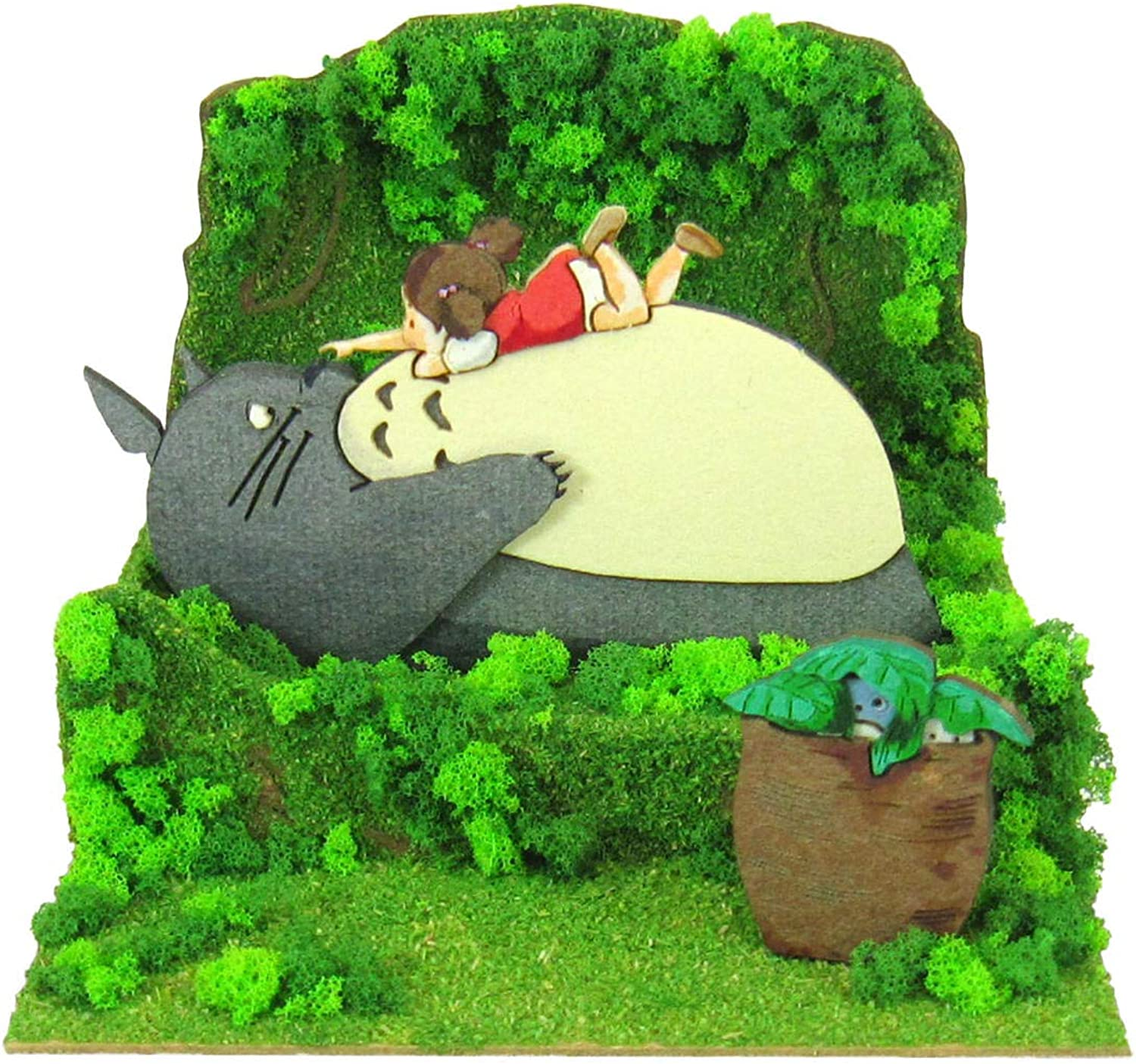 Sankei MP0748 Ghibli Mei And Totgold My Neighbor Totgold Paper Craft [Add]
