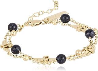 Police Gotita Blue Stainless Steel Bracelet For Women - PJ26332BSG/02
