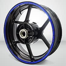 Speed Outer Rim Liner Stripe for Suzuki GSR 750 Gloss Blue