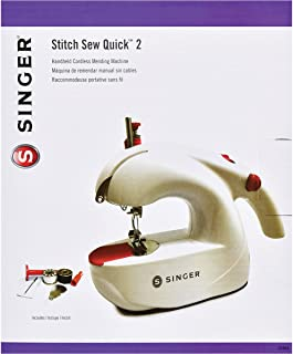 SINGER 01664 Stitch Sew Quick 2 Hand Held Mending Machine