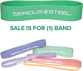 Serious Steel Fitness 12 inch Resistance Band | Deadlift Band | Hip Band | Glute Activation and Dynamic Warm Up Band