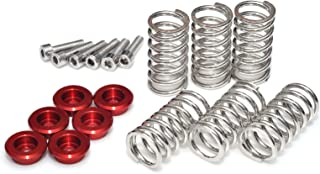 MC Motoparts CNC Clutch Collar Springs Red Set For Ducati 1098 R S 916 SP Monster 600 750 Monster S4RS Testastretta