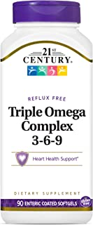 21st Century Triple Omega Complex 3-6-9 Enteric Coated, 90 Softgels
