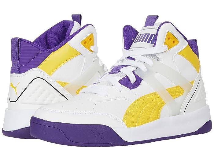Mens Vintage Shoes, Boots | Retro Shoes & Boots PUMA Backcourt Mid $69.95 AT vintagedancer.com
