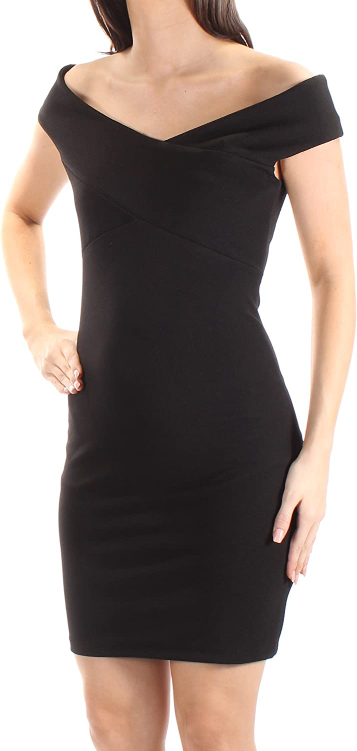 Bar Iii Womens Textured Bodycon Dress