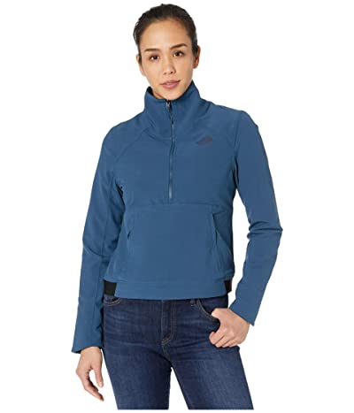 The North Face Shelbe Raschel Pullover (Blue Wing Teal/Blue Wing Teal) Women