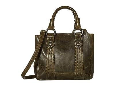 Frye Melissa Mini Tote Crossbody (Pine) Handbags