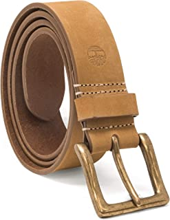 Men's 38mm Icon Nubuck Boot Leather Belt
