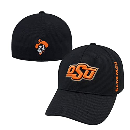 sale retailer 76817 c255e Top of the World Oklahoma State Cowboys Official NCAA One Fit Booster Plus Hat  Cap 112077