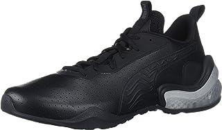 PUMA Men's LQDCELL Challenge Sneaker, Black-Castlerock, 11 M US