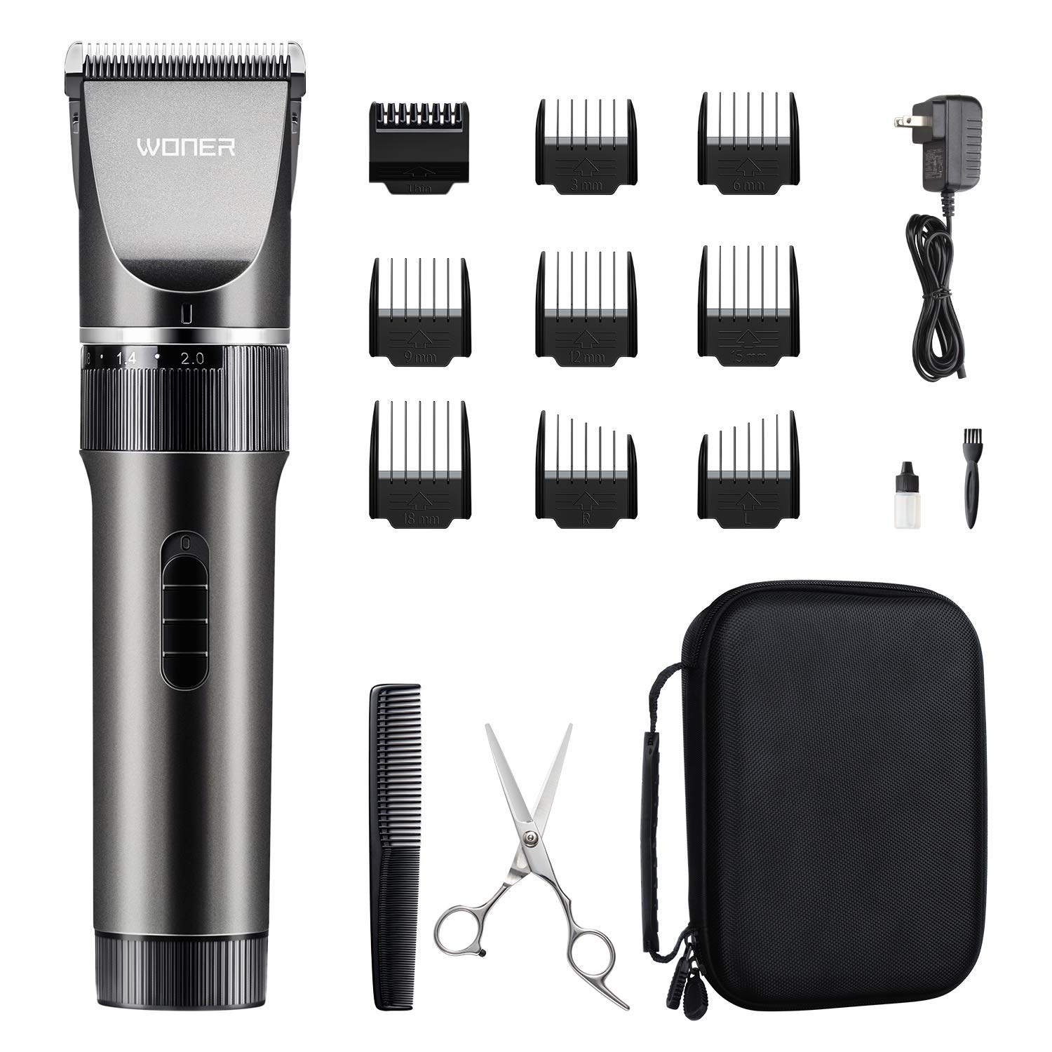 WONER Cordless Rechargeable Clippers Trimmers