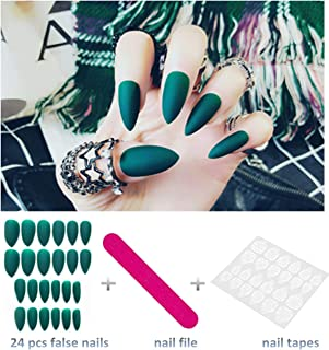 Best green nails acrylic Reviews
