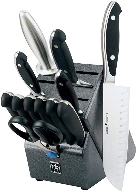 International Forged Synergy 13 Piece Cutlery Block Set