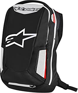 Alpinestars 3517-0403 Black/White/Red 25 Liter City Hunter Backpack