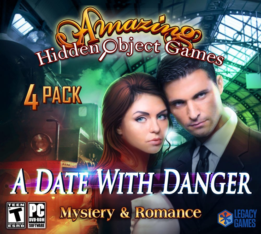 A Date with Danger: Jacksonville Mall Amazing New life 4 Hidden Object Pack Games