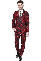 Abito di Halloween per Uomo Pantaloni e Cravatta 2XL Completo: Giacca Suitmeister Rainbow