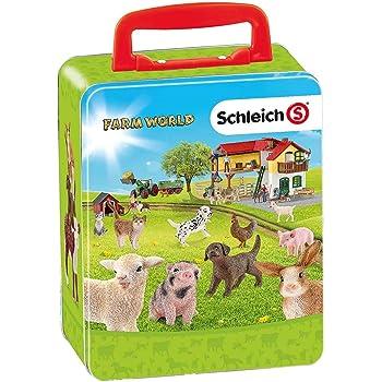plastique Figure Farm Life Accessoires Schleich 42301 nourrir les animaux de la ferme