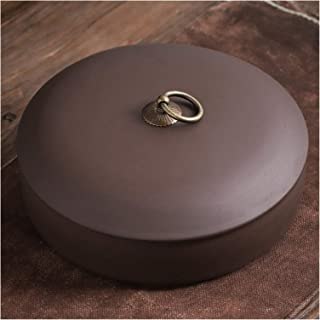 Conteneur de canettes de gâteau de thé en céramique de Sable Violet pour organisateurs de Cuisine Boîte de Rangement de Su...