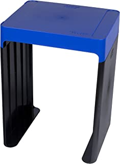 Five Star Locker Accessories, Locker Shelf, Stackable, Holds up to 150 pounds Fits 12 inches Width Lockers, Blue (72226)