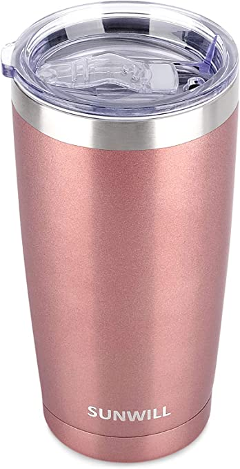 SUNWILL 20oz Tumbler with Lid