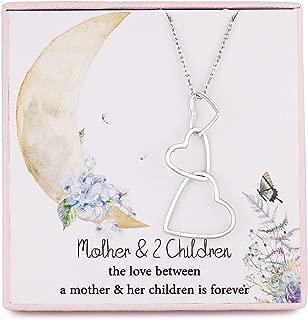 mom heart locket necklace