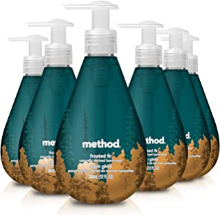 Method Gel Hand Wash, Frosted Fir, 12 Ounces, 6 Count