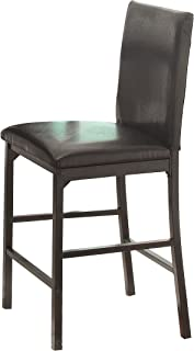 Homelegance 2601 Counter Height Dining Chair (Set of 4), Black