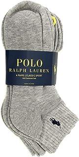 Ralph Lauren Polo Classic Sport 6 Pack half Cushioned sole Men's Socks