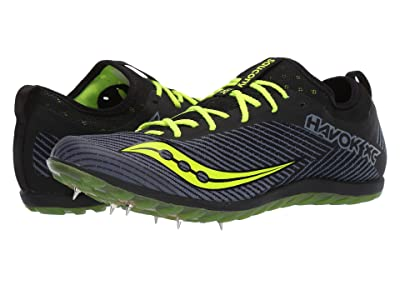 Saucony Havok XC2 (Black/Citron) Men