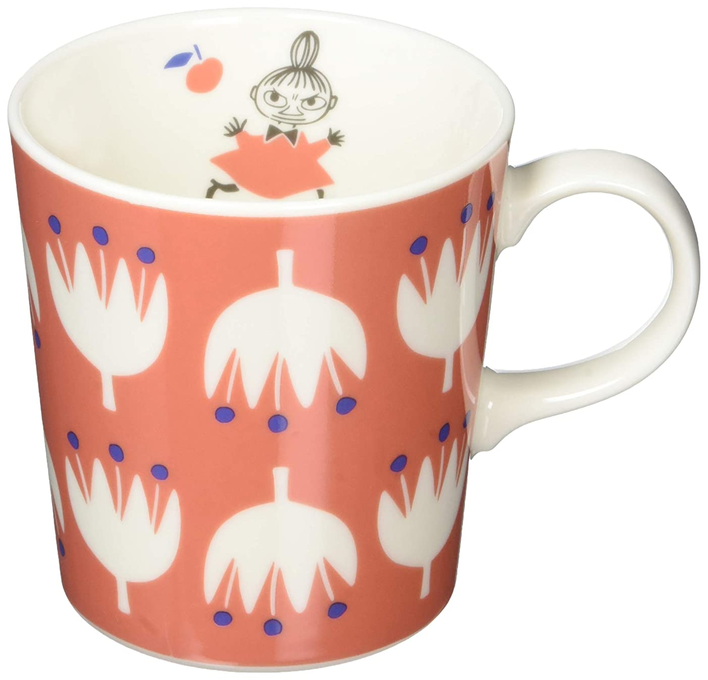 ペットスピーカー債権者MOOMIN (ムーミン) 「 クッカ 」 マグカップ レッド (化粧箱入) MM1002-11
