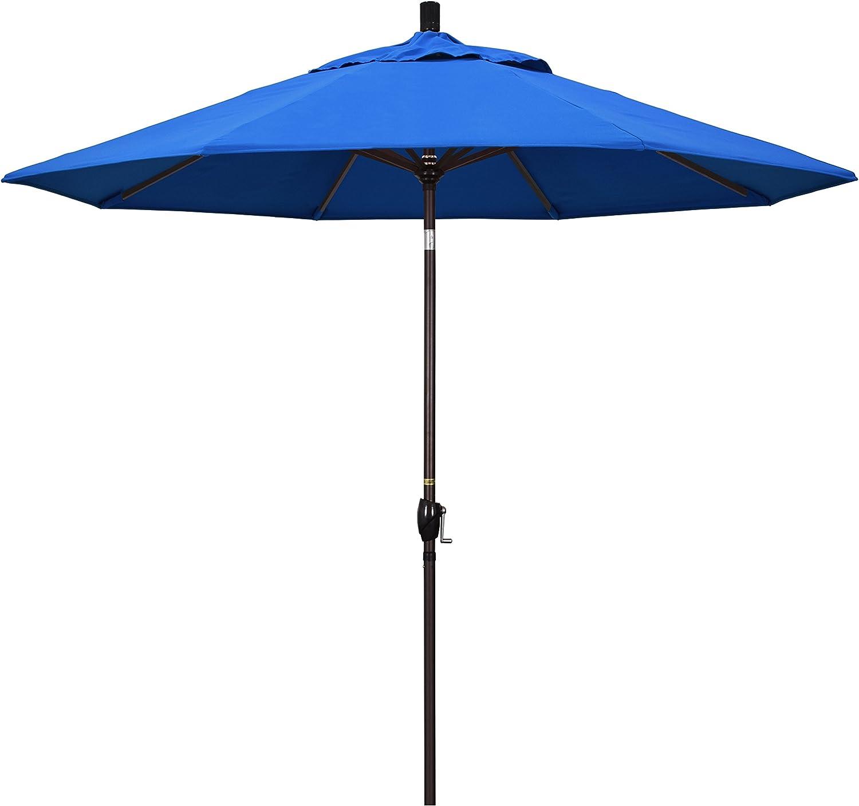 California latest Umbrella GSPT908117-F03 9' online shop Aluminum Round Market Cra