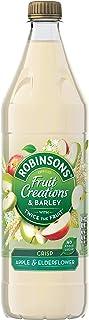 Robinsons Fruit Creations and Barley Crisp Apple and Elderflower Squash, 1 Litre