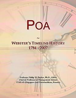 Poa: Webster's Timeline History, 1784 - 2007
