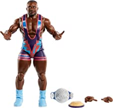 WWE Big E Elite Series #79 Deluxe Action Figure with Realistic Facial Detailing, Iconic Ring Gear & Accessories