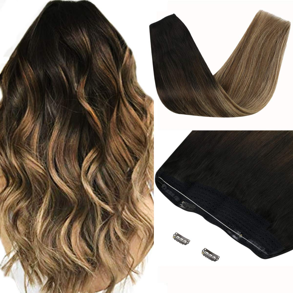 Sunny Secret Max OFFicial 88% OFF Hair Extensions Fish Straight Line Human Wire