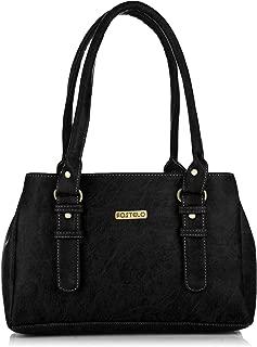 Fostelo Women's Westside Handbag (Black) (FSB-414)