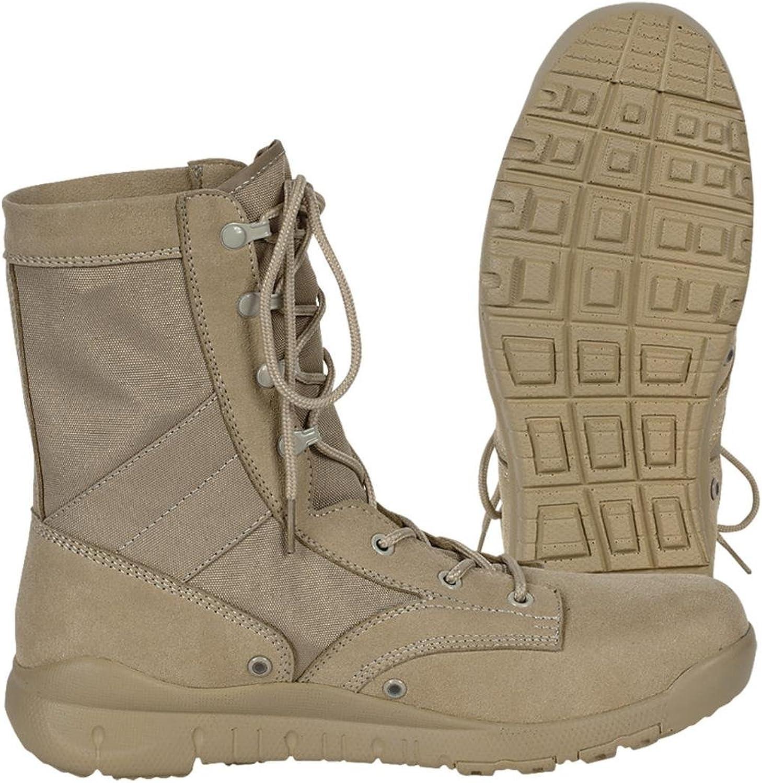 Voodoo Tactical 04-8478 Voodoo Jungle Boot., Waterproof, Desert Tan