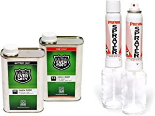 Ultra-Ever Dry, Bottom Coat 4000, Top Coat 4001, and Ultra-Mini Sprayers 4122