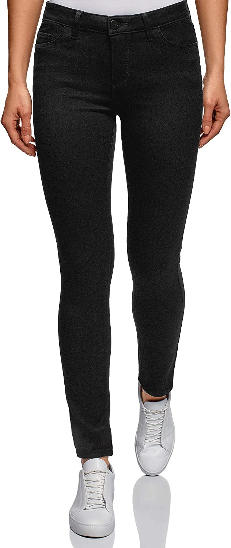 Oodji Ultra Women's Mid Rise Skinny Jeans