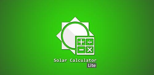 Solar Calculator Lite