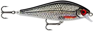 Lure with Two No 3/0, 1-1.4m, Swim Depth, 16cm, Live Roach Size