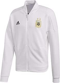 adidas 2018-2019 Argentina ZNE Knitted Anthem Jacket (White)