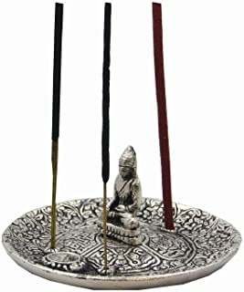 DharmaObjects Tibetan Buddha Incense Burner Holder
