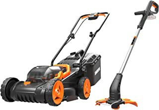 Sponsored Ad – WORX WG927E Dual 20V Battery 34cm Cordless Lawn Mower & 18V (20V MAX) Cordless Grass Trimmer