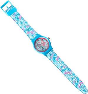 Dreamworks Trolls Analog Watch with Printed Jelly Band, Blue