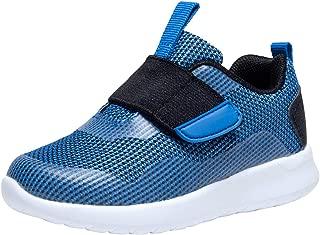 Zoneyue Boys Girls Low Top Buckled Tennis Skate Shoes Bungee Straps Flat Sneakers (Toddler/Little Kid/Big Kid)