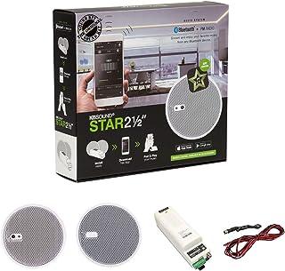 KBSound Star Einbauradio mit UKW und Bluetooth, App Steuerung inkl. 2,5 Zoll LS